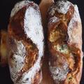 ライサワー種で作る、極上の味噌チーズパン