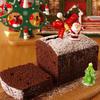 クリスマスの超簡単チョコレートケーキ☆ホットケーキミックス(HM)とココアパウダー使用