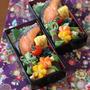 月曜シャケ弁当 ✿ サラサラチキンカレー(๑¯﹃¯๑)♪