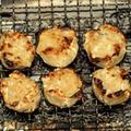 シュウマイ(市販のお総菜)の炭火焼