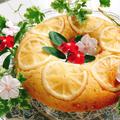 ホットケーキmixで☆⑧冷やして美味しい♪夏のレモンケーキ