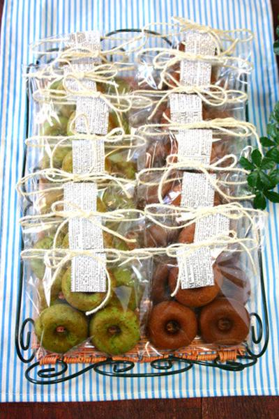 幼稚園バザーの焼き菓子☆
