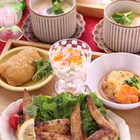 「鶏手羽焼き 花椒仕立て」と和食の日