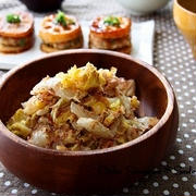 *女子ウケ確実!!白菜のごまおかかマヨポンサラダ*