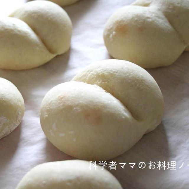 豆腐の白パン☆電子レンジで簡単レシピ