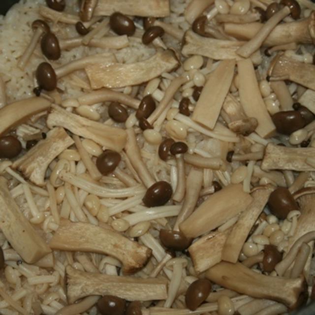 5月31日  茸の炊き込みご飯