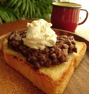 小倉トーストのレシピ8選 小倉トーストと相性の良いもの