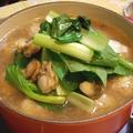 豚団子と小松菜のあっさり鍋♪
