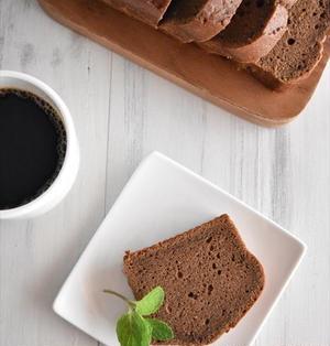 和と洋のコラボ!こしあんのコーヒーパウンドケーキ