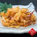 白いか(ケンサキイカ)の干物で作る天ぷら