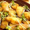 お弁当にも◎白身魚のカリッとカレー粉焼き