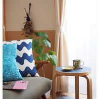 ブルーな北欧雑貨とお気に入りの空間と模様替えしたい熱が・・。