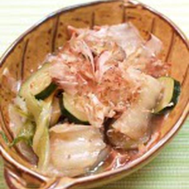 白菜とジューシー野菜の生姜風味煮