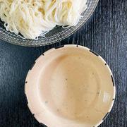 山椒とくるみの味噌だれソーメン