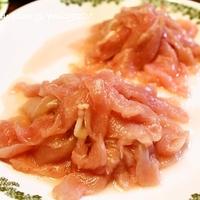 [茨城新名物料理コンテスト] つくば鶏むね肉の梅ダレしゃぶしゃぶ レシピ