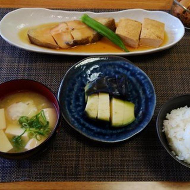2ヶ月ぶりの再会にほっこり☆鰈の煮つけ焼き豆腐入り♪☆♪☆♪