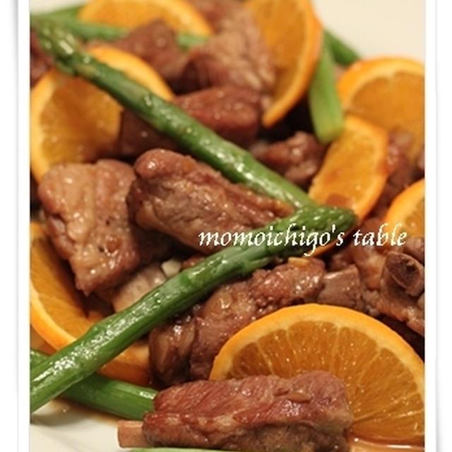 ジンジャーハニーオレンジ風味のスペアリブ・夏野菜のグラティネ・ムール貝でワイン!