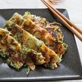 【魚介×野菜レシピ】カリッとモチッと!イカと青ネギのチヂミ