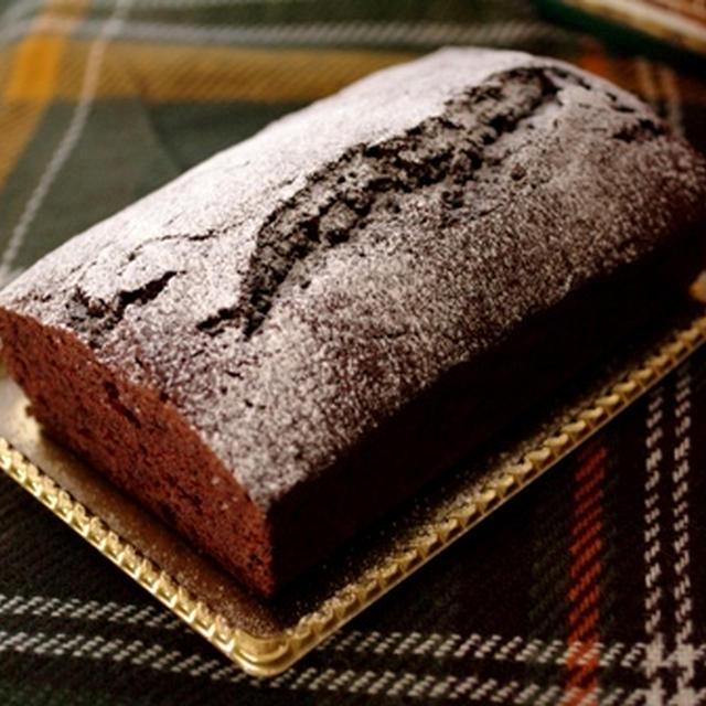 クリスマスの超簡単チョコレートケーキ☆パウンドケーキアレンジ