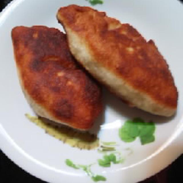 米粉揚げ焼きアンパン
