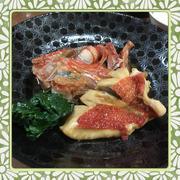 金目鯛の煮つけ(レシピ付)