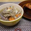 我が家の豚汁(しょうが&コショウを効かせて) by chi-さん