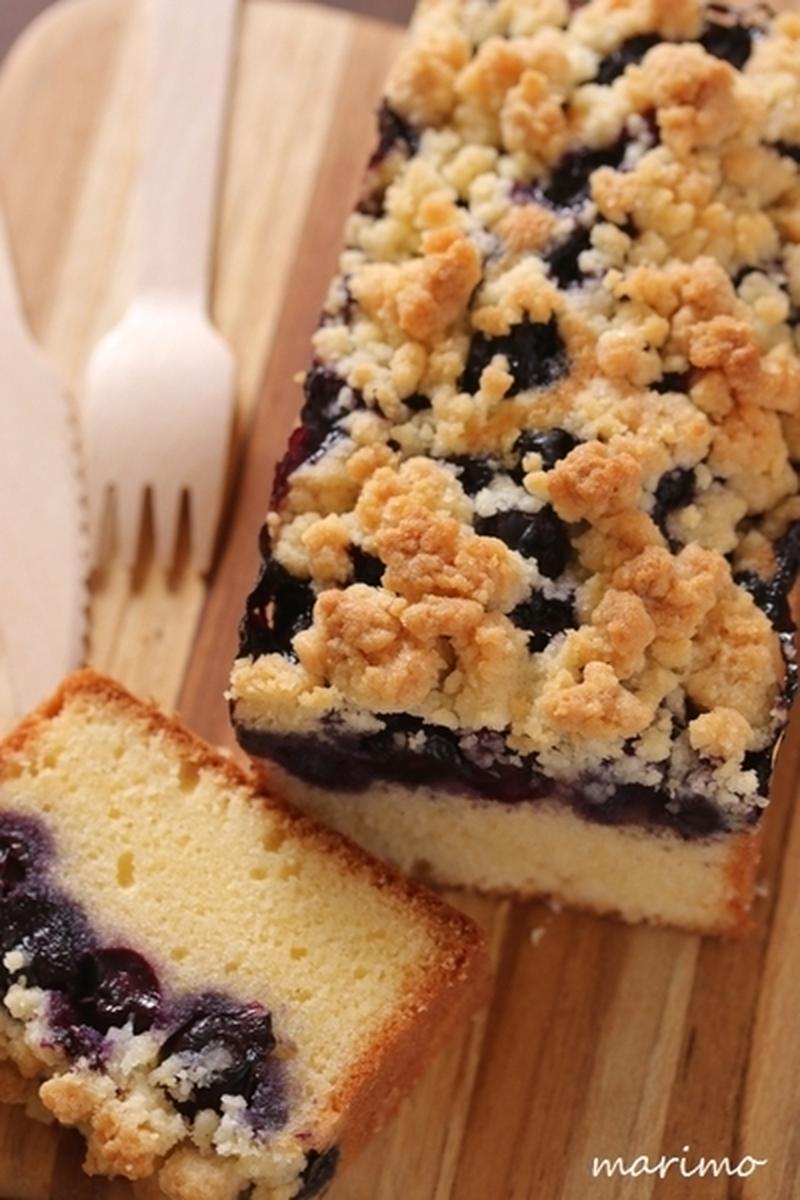 甘くてサクサク♪簡単に作れる魅惑の「クランブルケーキ」