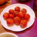 ミニトマトのガーリックソテー
