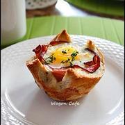 朝食カップパン