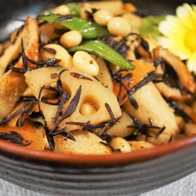 ■和食副菜【五目ヒジキ煮 作り置きにも重宝します♪】