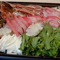 蟹と野菜のホットプレート蒸し by みなづきさん