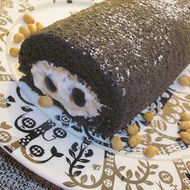 福を巻き込む!恵方巻きロールケーキ♪
