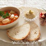 ヘルシー豆まめ料理 de ワンプレート朝食。。。