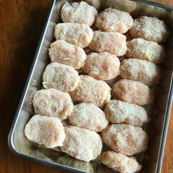 【レシピ】お弁当にやってて良かった!自家製冷食チキンナゲット風