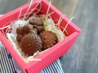 >和菓子のようなチョコレート by ショコラさん