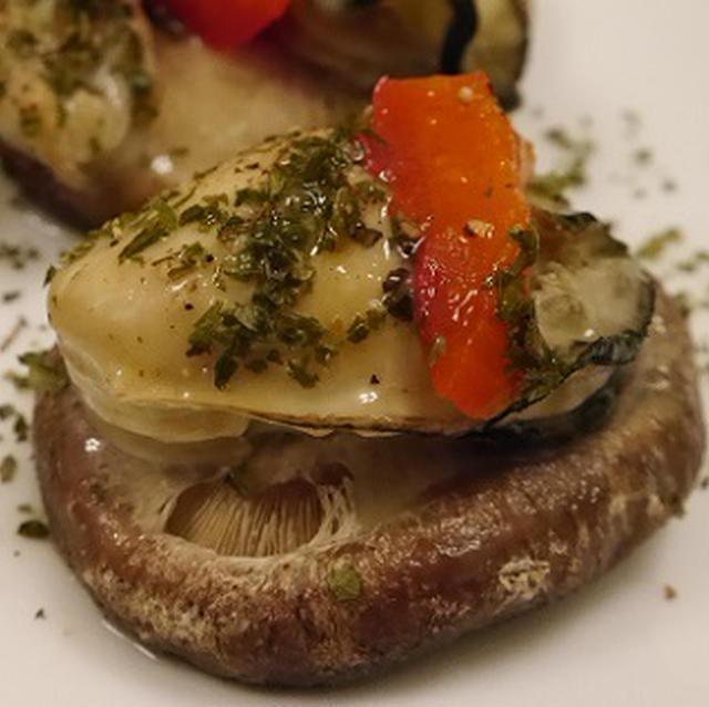 ★ 牡蠣とイカでイタリアン