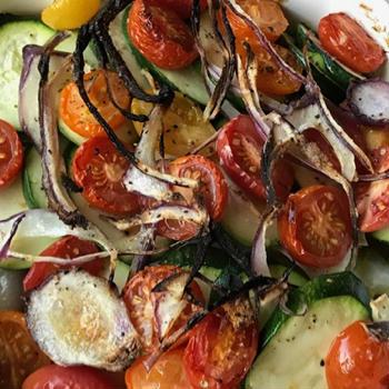 鱈と野菜のオーブン焼き