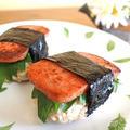 お弁当に♪ 小腹満たしに♪ ハワイアンスパムおにぎり。 by musashiさん