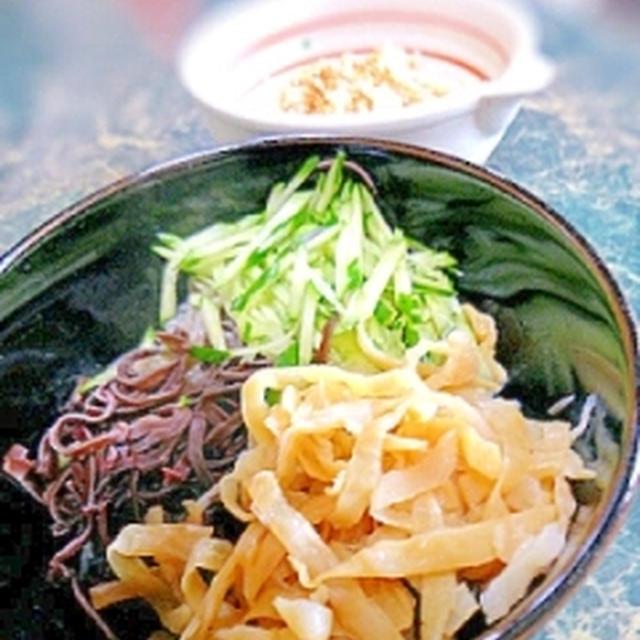 低カロリー★白滝とクラゲの酢の物★冷やし中華風