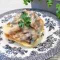 食物繊維たっぷり。『マッシュルームのクリーム煮』ヨーロッパ周辺。