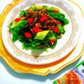 【レシピ】低糖質!ラム肉のエスニックサラダ