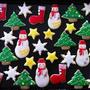 クリスマスにぴったりのアイシングクッキー☆