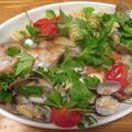 【旨魚料理】ウスメバルのアクアパッツア