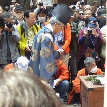 ちんこ祭り(田縣神社 豊年際 2018 )に行ってきました その2