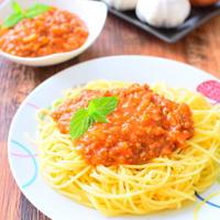 コチュジャン入りミートソーススパゲッティのレシピ
