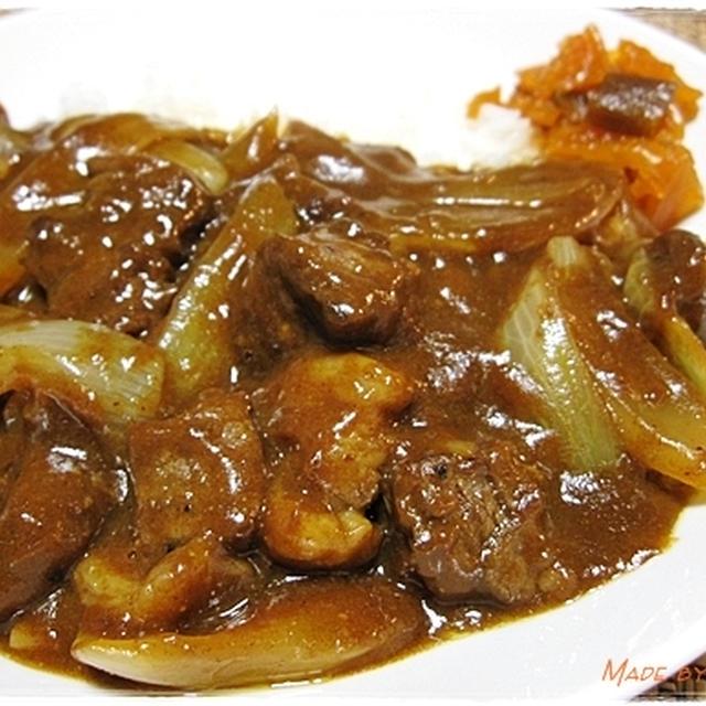 10分で作る炒カレー <肉好きが泣いて喜ぶ?ビーフ炒カレー>