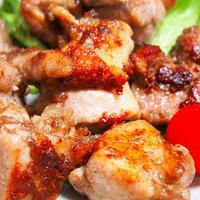 モモ肉でも美味しい手羽焼き花椒仕立て💦  大根の肉味噌田楽