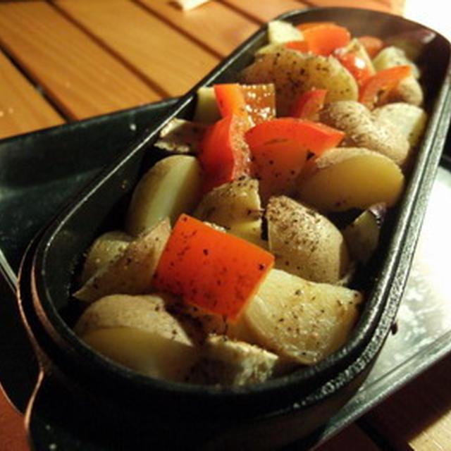 コロダッチレシピ・・・夏野菜のクミン風味焼き