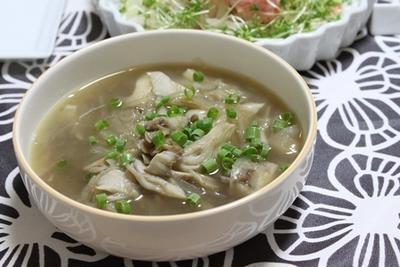 ■ご質問のお返事 舞茸のスープの作り方