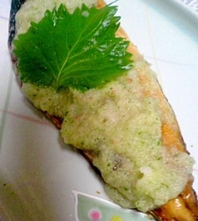 梅しそ大根おろしたっぷり☆焼き魚